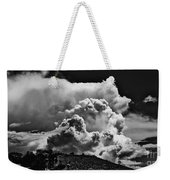 Clouds Over Santa Fe Weekender Tote Bag