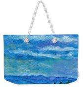 Clouds Over The Blue Ridge Weekender Tote Bag