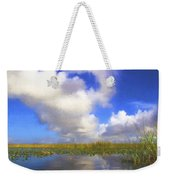 Clouds Over The Grasses Weekender Tote Bag