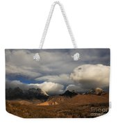 Clouds Over The Organ Mountains Weekender Tote Bag