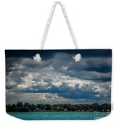 Clouds Over The River Weekender Tote Bag