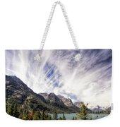 Clouds Over Wild Goose Island Weekender Tote Bag