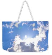 Clouds With Sunshine Weekender Tote Bag