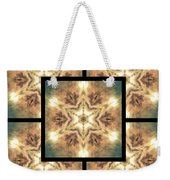 Cloudscape Fire Page Weekender Tote Bag