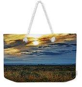 Cloudy Afternoon Weekender Tote Bag