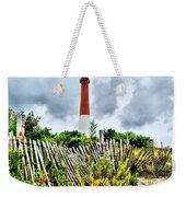 Cloudy At Barnegat Light Weekender Tote Bag