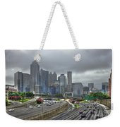 Cloudy Atlanta Capital Of The South Weekender Tote Bag