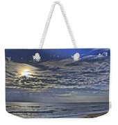 Cloudy Day At The Beach Weekender Tote Bag
