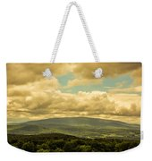 Cloudy Day In New Hampshire Weekender Tote Bag