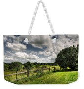 Cloudy Day In The Country Weekender Tote Bag by Kaye Menner