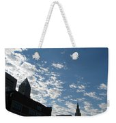 Cloudy In Cleveland Weekender Tote Bag