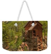 Cloudy Over Crystal Weekender Tote Bag by Adam Jewell