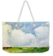 Cloudy Summerday Weekender Tote Bag