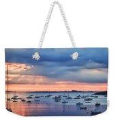 Cloudy Sunrise Weekender Tote Bag