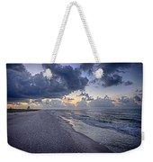 Cloudy Sunrise Over Orange Beach Weekender Tote Bag