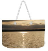 Cloudy Sunrise Weekender Tote Bag