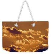 Key West Cloudy Sunset Weekender Tote Bag