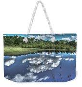Cloudy Waters Weekender Tote Bag