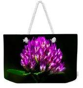Clover Flower Weekender Tote Bag