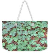 Clover Weekender Tote Bag