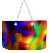 Clown Chakra Nebula Weekender Tote Bag