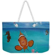 Clown Fish And Friends Weekender Tote Bag