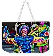 Clowned Blue Weekender Tote Bag