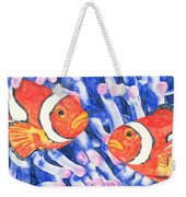Clownfish Couple Weekender Tote Bag