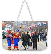 Clowns And Tartans Weekender Tote Bag