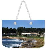 Clubhouse At Pebble Beach Weekender Tote Bag