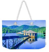 Clubhouse On Lake Tahoma Weekender Tote Bag