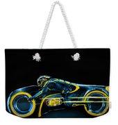 Clu's Lightcycle Weekender Tote Bag by Kayleigh Semeniuk
