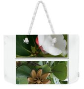 Clusia Rosea - Clusia Major - Autograph Tree - Maui Hawaii Weekender Tote Bag by Sharon Mau