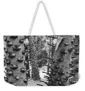 Cluster- Black And White Weekender Tote Bag