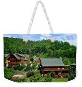 Cluster Cottages Weekender Tote Bag