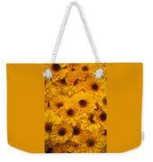 Cluster Of Yellow Blooms Weekender Tote Bag