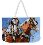 Clydesdale Duo Weekender Tote Bag