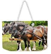 Clydesdale Horses Weekender Tote Bag