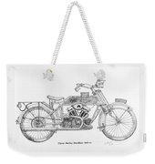 Clyno-harley-davidson Weekender Tote Bag