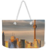 Cn Tower Toronto Weekender Tote Bag