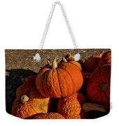 Knarly Pumpkin Weekender Tote Bag