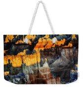 Coal Mine Canyon Aglow Weekender Tote Bag