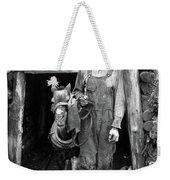 Coal Miner & Mule 1940 Weekender Tote Bag