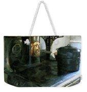 Coal Stove Weekender Tote Bag