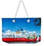 Coast Guard Cutter Mackinaw Weekender Tote Bag
