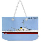 Coast Guard Cutter Taney Weekender Tote Bag