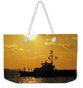 Coast Guard In Paradise - Key West Weekender Tote Bag