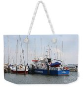 Coast Guard Maasholm Harbor Weekender Tote Bag
