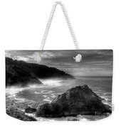 Coast Of Dreams 7 Bw Weekender Tote Bag