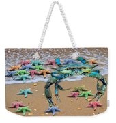 Coastal Crab Collection Weekender Tote Bag